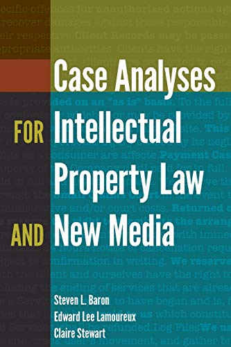 9781433131011: Case Analyses for Intellectual Property Law and New Media (Digital Formations)