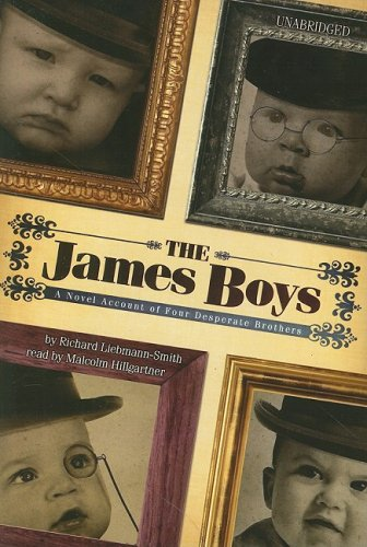 9781433215391: The James Boys: A Novel Account of Four Desperate Brothers