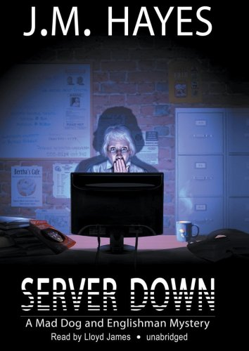 Server Down (A Mad Dog & Englishman Mystery) (Library Edition): J. M. Hayes