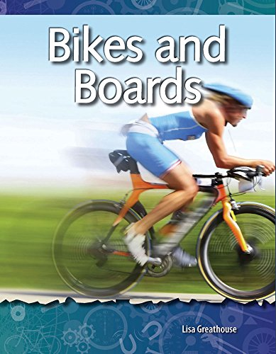 9781433303036: Bikes and Boards: Forces and Motion (Science Readers)