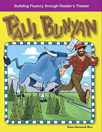 9781433309946: Paul Bunyan: American Tall Tales and Legends (Building Fluency Through Reader's Theater)