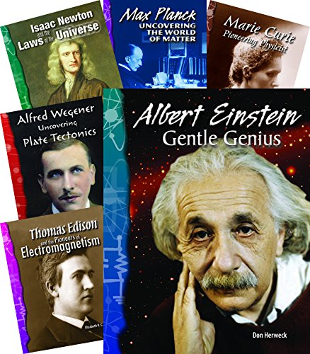 Inventor Biographies Set: 10 Titles (Paperback): Shell Education