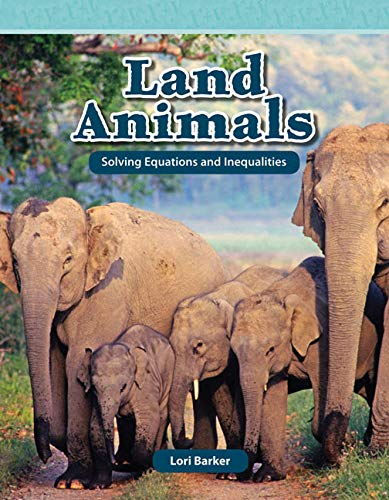 9781433334566: Land Animals (Mathematics Readers)