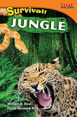 9781433348204: Survival! Jungle (TIME FOR KIDS Nonfiction Readers)