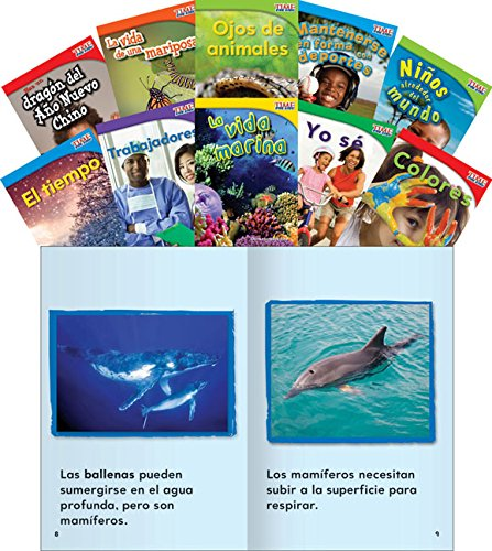 9781433350986: TIME FOR KIDS Nonfiction Readers: Emergent Set 2 (Teacher Created Materials Library Set) (Spanish Edition)