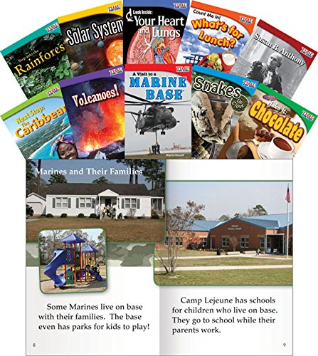 9781433351051: TIME FOR KIDS Informational Text Grade 2 Readers Set 3 10-Book Set (TIME FOR KIDS Nonfiction Readers)
