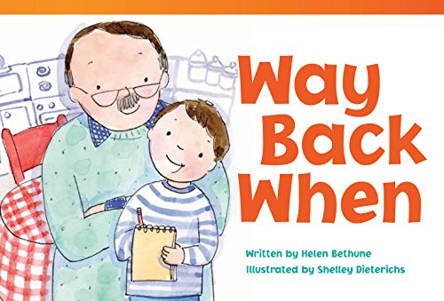 9781433355707: Teacher Created Materials - Literary Text: Way Back When - Grade 2 - Guided Reading Level M