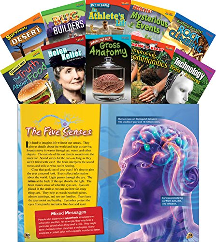 9781433372506: TIME FOR KIDS Informational Text Grade 4 Readers Set 1 10-Book Set (TIME FOR KIDS Nonfiction Readers)
