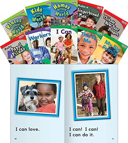 9781433374029: Social Studies Guided Reading Grade 1 10-Book Set (Classroom Library Collections)