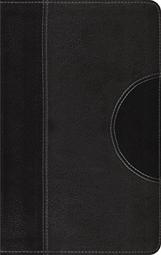 9781433501975: ESV Thinline Bible (TruTone, Black/Charcoal, Crescent Design)
