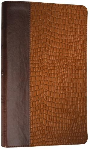 9781433501982: ESV Thinline Bible (TruTone, Brown/Tan, Gator Design)