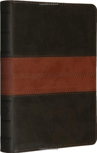 ESV Personal Size Reference Bible (TruTone, Forest/Tan, Trail Design): ESV Bibles by Crossway