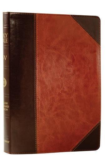 ESV Single Column Reference Bible (TruTone, Brown/Cordovan,