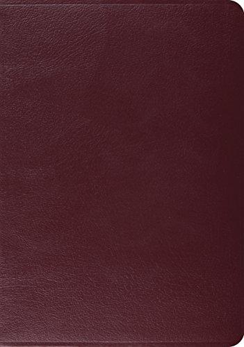 ESV Study Bible (Burgundy): ESV Bibles by Crossway