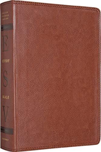 9781433502408: ESV Study Bible (TruTone, Natural Brown)