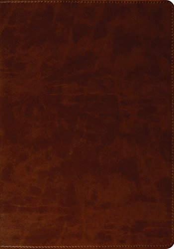 9781433502491: ESV Large Print Bible (TruTone, Brown)
