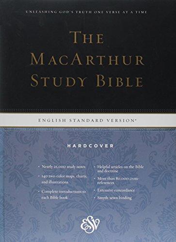9781433504006: ESV MacArthur Study Bible (Hardcover)