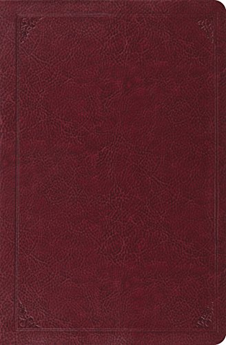 ESV Verse-by-Verse Reference Bible (TruTone, Burgundy, Frame Design): ESV Bibles by Crossway
