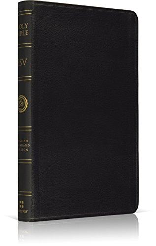 ESV Premium Thinline Bible (Black)