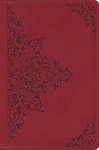 9781433515149: ESV Compact Bible (TruTone, Cranberry, Filigree Design)