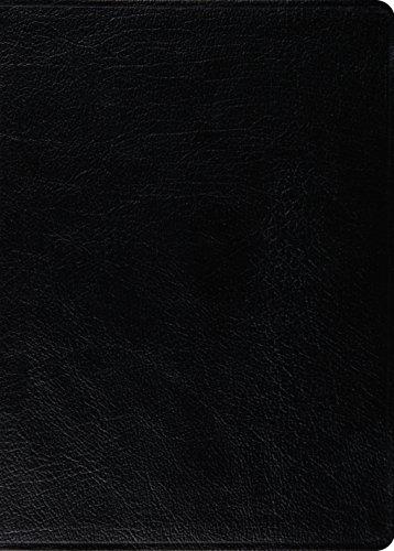 9781433521447: ESV MacArthur Study Bible (Genuine Leather, Black)