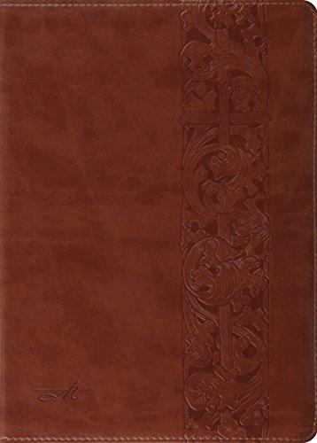 ESV MacArthur Study Bible (Natural Brown/Woodcut design): John MacArthur [Editor]