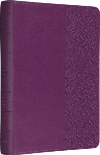 ESV Personal Size Reference Bible (TruTone, Plum, Wildflower Design): ESV Bibles by Crossway