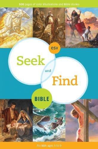 9781433521980: ESV Seek and Find Bible