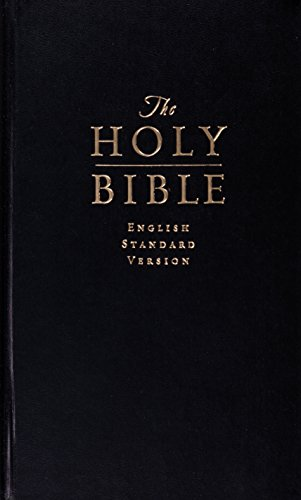 9781433522048: Holy Bible: English Standard Version, Black, Value Pew Bible