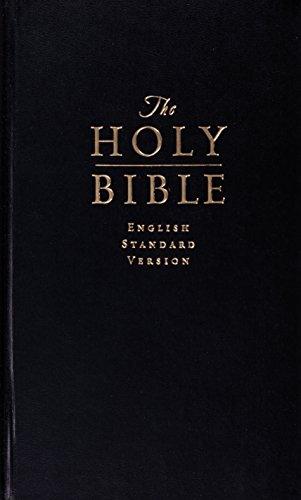 9781433522048: Holy Bible: English Standard Version, Black, Value Pew Bible