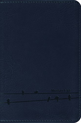 9781433524301: ESV Compact Bible (TruTone, Slate, Birds Design)