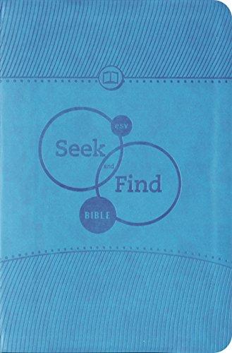 9781433524486: ESV Seek and Find Bible (TruTone, Blue)