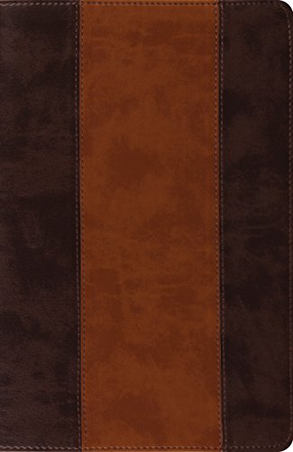 9781433524745: ESV New Classic Reference Bible (TruTone, Brown/Cordovan, Stripe Design)