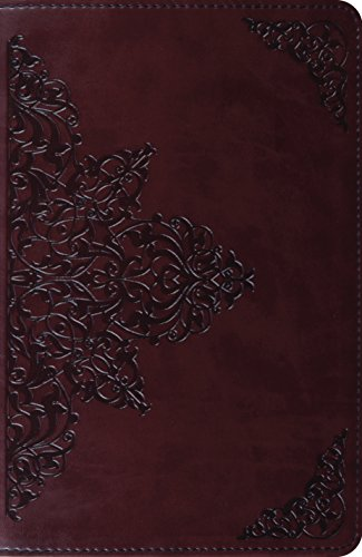 ESV New Classic Reference Bible (TruTone, Chestnut, Filigree Design): ESV Bibles by Crossway
