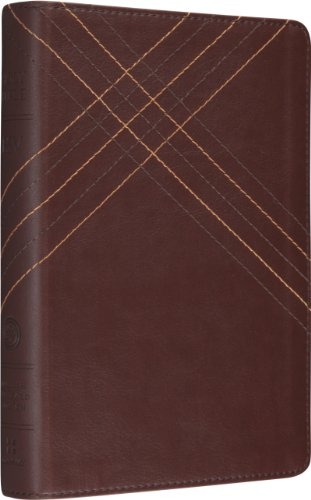9781433527173: Holy Bible: English Standard Version Brown Crossweave Design TruTone Personal Size Reference Bible