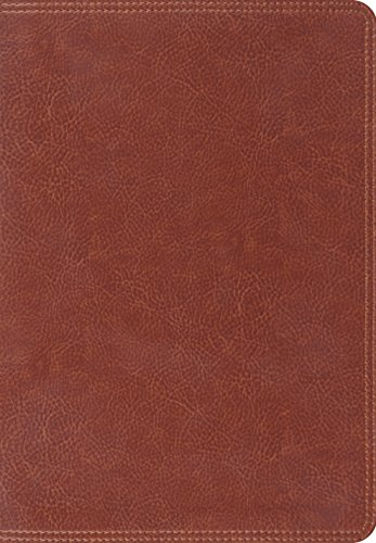ESV Giant Print Bible (TruTone, Brown) (1433527219) by ESV Bibles by Crossway