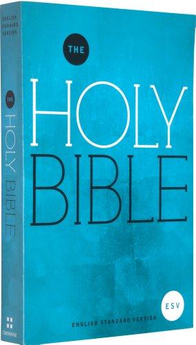 9781433527234: ESV Outreach Bible (Paperback, Blue Design)
