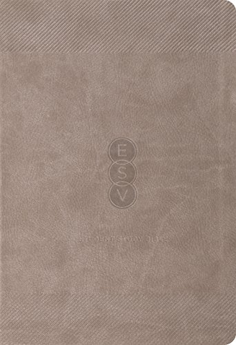 9781433528668: ESV Student Study Bible (TruTone, Taupe)