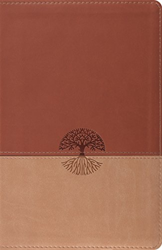 9781433528736: ESV New Classic Reference Bible (TruTone, Brown/Tan, Tree Design)