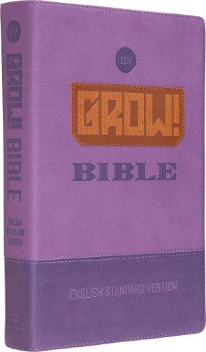 9781433528750: ESV Grow Bible TruTone Purp