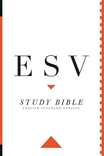 9781433530838: ESV Study Bible: English Standard Version.