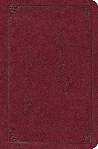 9781433530883: ESV Single Column Legacy Bible (TruTone, Burgundy, Frame Design)