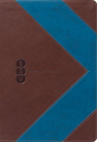 9781433530913: ESV Student Study Bible (TruTone, Brown/Blue, Arrow Design)