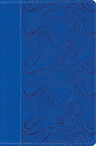 ESV Compact Bible (TruTone, Deep Blue, Waves Design): ESV Bibles by Crossway