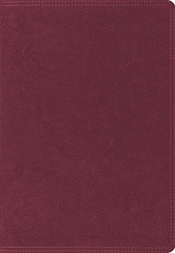 ESV Giant Print Bible (TruTone, Burgundy): ESV Bibles by Crossway