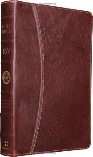 9781433532672: ESV Vintage Thinline Bible (Cowhide, Chestnut, Hemisphere Design)