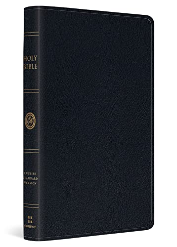9781433532795: ESV Large Print Thinline Reference Bible (Black)