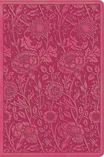 ESV Personal Reference Bible (TruTone, Berry, Floral Design) (1433535785) by ESV Bibles by Crossway