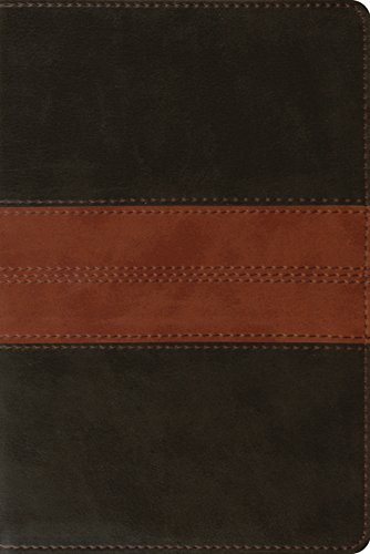 ESV Personal Reference Bible (TruTone, Deep Brown/Tan, Trail Design) (1433536455) by ESV Bibles by Crossway