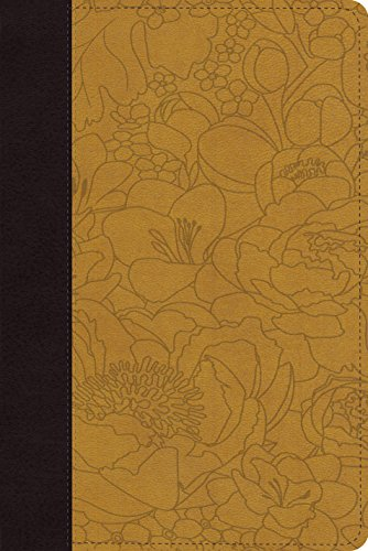9781433536465: ESV Personal Reference Bible (TruTone, Coffee/Goldenrod, Bouquet Design)